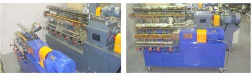 اکسترودر گرانول سازی و سیستم کامپاوندسازی